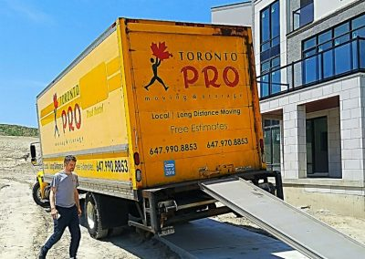 Moving Company Toronto Blue Skies