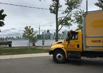 Moving Company Toronto Break for landscape
