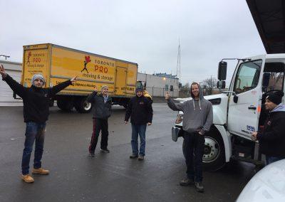 Moving Company Toronto Finish