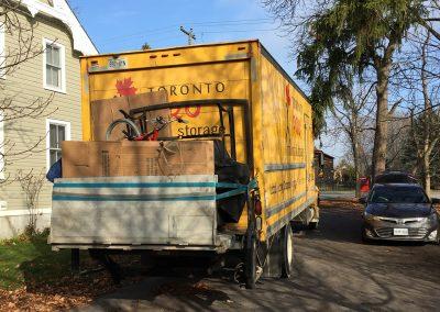 Moving Company Toronto Going to destination