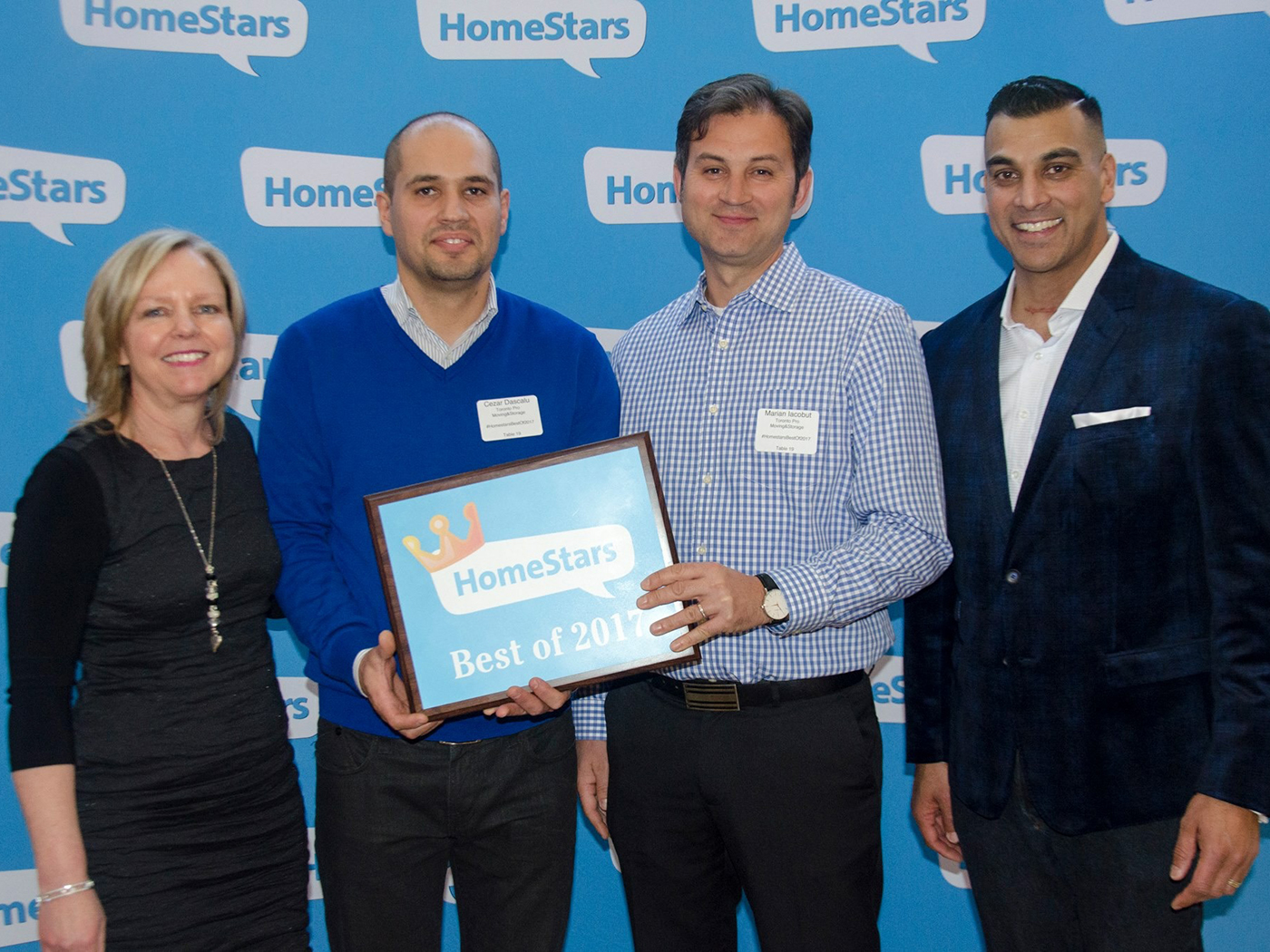Moving Company Toronto Homestars Awards Final