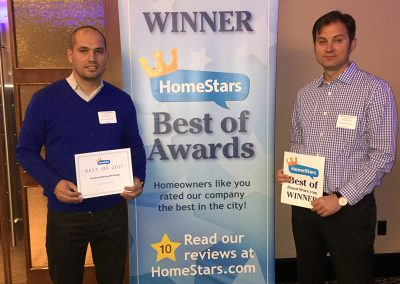Moving Company Toronto Homestars Awards Team 2017