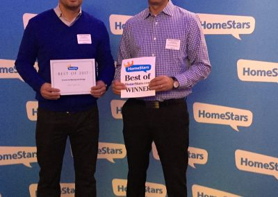 Moving Company Toronto Homestars Awards Team