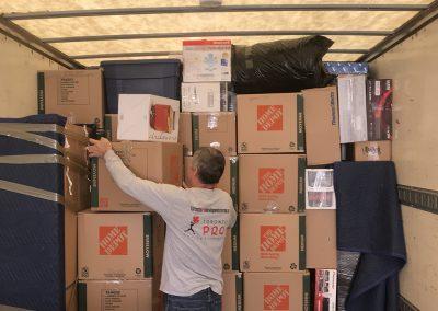 Moving Company Toronto Matching Boxes