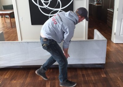 Moving Company Toronto Packing Sofa
