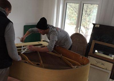 Moving Company Toronto Piano Set Up