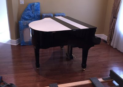 Moving Company Toronto Prepare the Piano