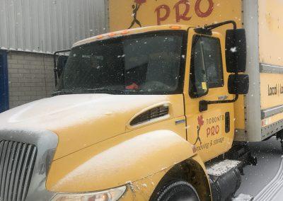 Moving Company Toronto Prepared for Adventure in Snow