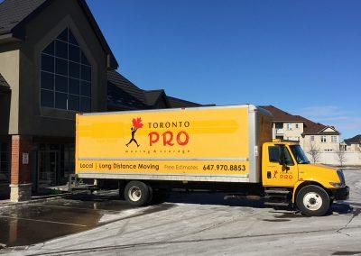 Moving Company Toronto Ready Truck