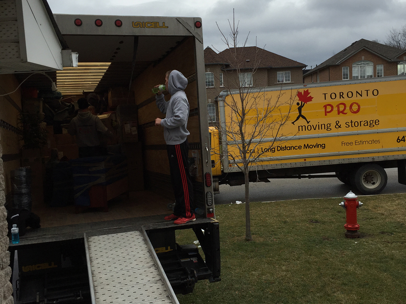 Moving Company Toronto Starting Work