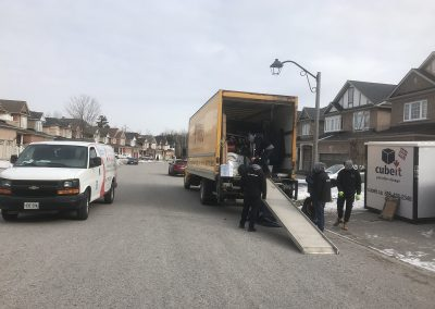 Moving Company Toronto Team Work