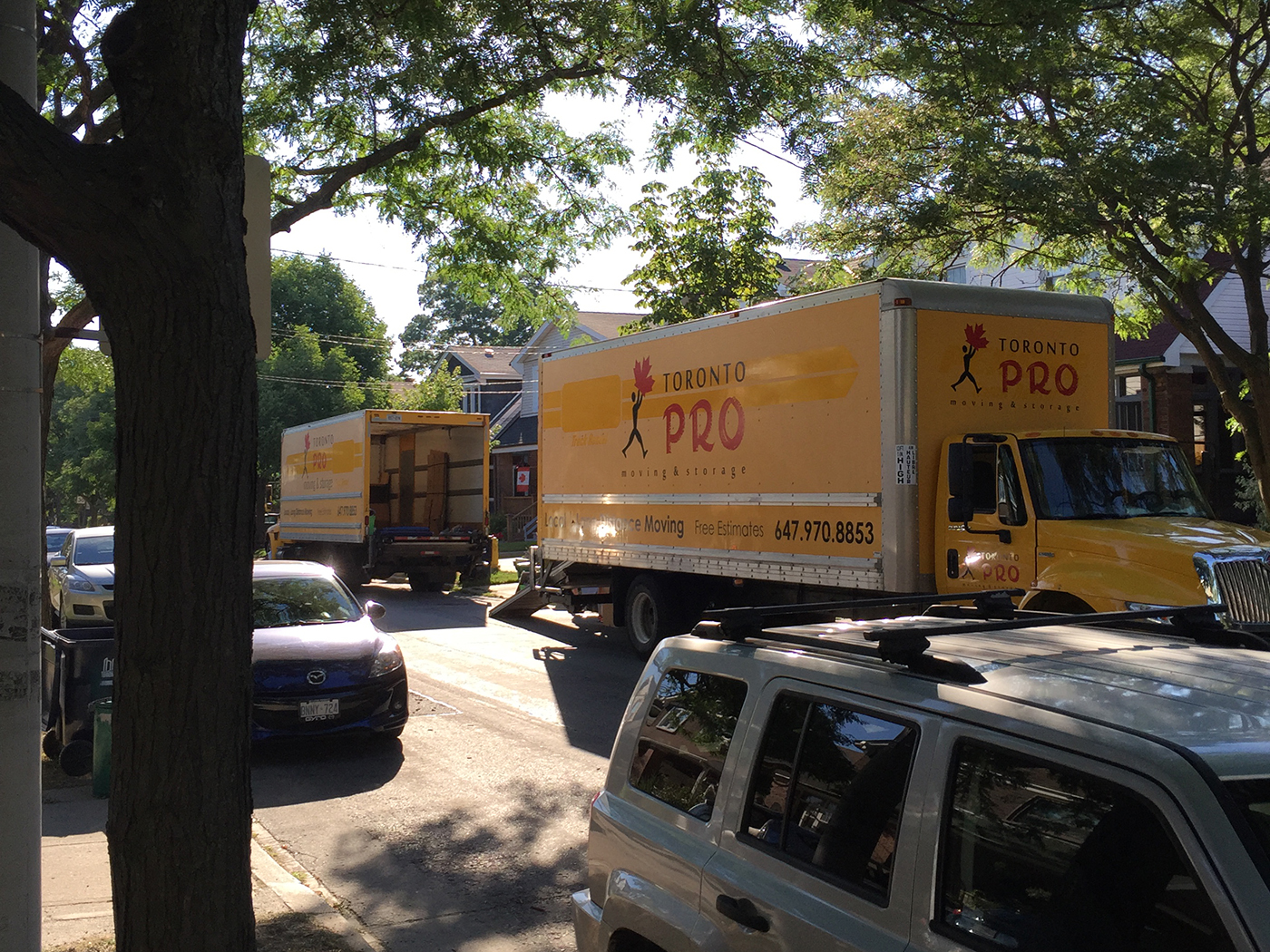 Moving Company Toronto Toronto Pro Moving Trucks