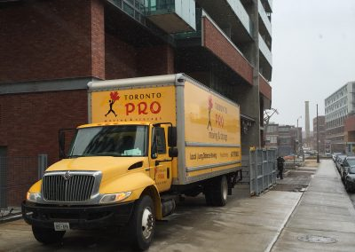 Moving Company Toronto Truck is Ready