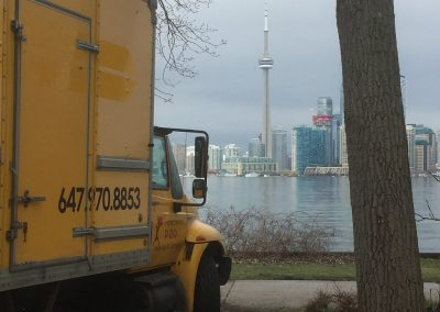 Moving Company Toronto Trucks