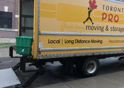 Moving Company Toronto Trucks Prepared