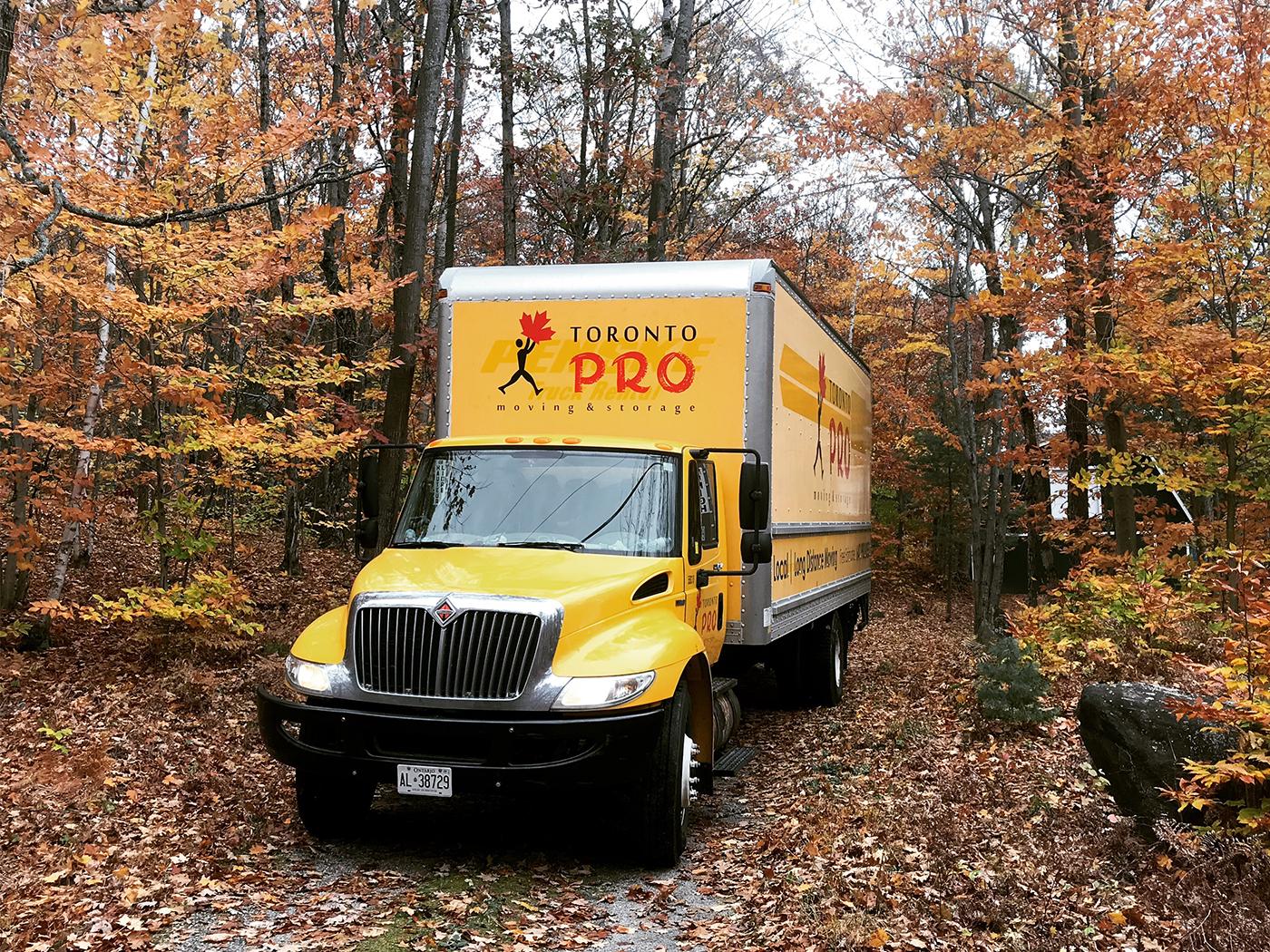 Moving Company Toronto Trucks
